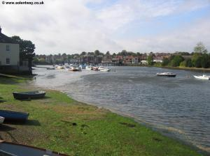 The River Lymington looking to Lymington