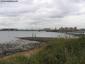 View of the Eastern Docks from Woolston