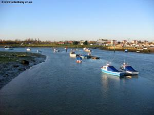 Haslar Lake from Haslar Bridge