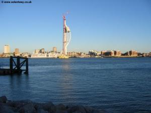 The skyline of Portsmouth