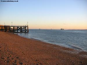 Victoria Pier, The Solent and the Isle of Wight