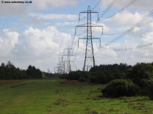 The power lines to Fawley
