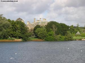 The River Beaulieu and Palace House